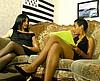 telecharger porno Casting: Une jolie black et Manu s'occupent d'elle
