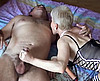 clip Trio bisex chez une vieille à gros seins
