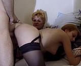 Elle se fait sodomiser par le mari d'une collègue