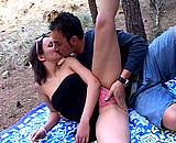 video en allopass :  Elle s'exhibe devant son copain et baise avec...