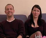 video en allopass :  Couple mélangiste dans leur première vidéo amateur
