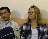 video en allopass :  Couple de 20 ans qui veut essayer la double péné !