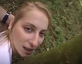 Une sportive se fait  baiser l' trou en forêt - Zlex.eu | Du sexe � volont�