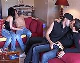 video en allopass :  Un couple baise avec deux bogoss bisexuels