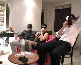 Aurélie de Nantes réalise son fantasme: Gang bang