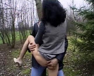 baise en plein air dial avec femme
